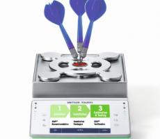 Mettler Toledo offers a three-step weighing approach.
