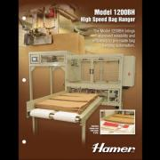 Hamer Model 1200BH High Speed Bag Hanger