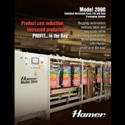 Hamer Model 2090 Industrial Horizontal Form, Fill, and Seal Packaging System